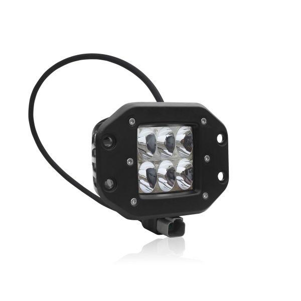 Врезная двухрядная светодиодная фара водительского света AURORA CREE 30w ALO-E-2-D1C