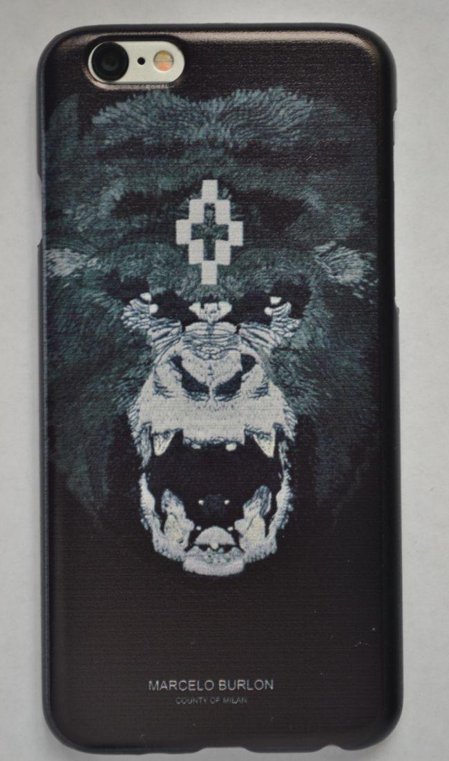 Чехол-накладка для iPhone 5/5s Marcelo Burlon №4