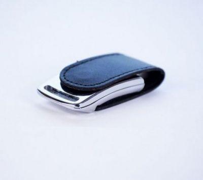 8GB USB-флэш накопитель Apexto U503I гладкая черная кожа OEM