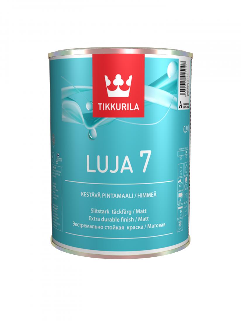 Краска для влажных помещений Тиккурила Луя 7