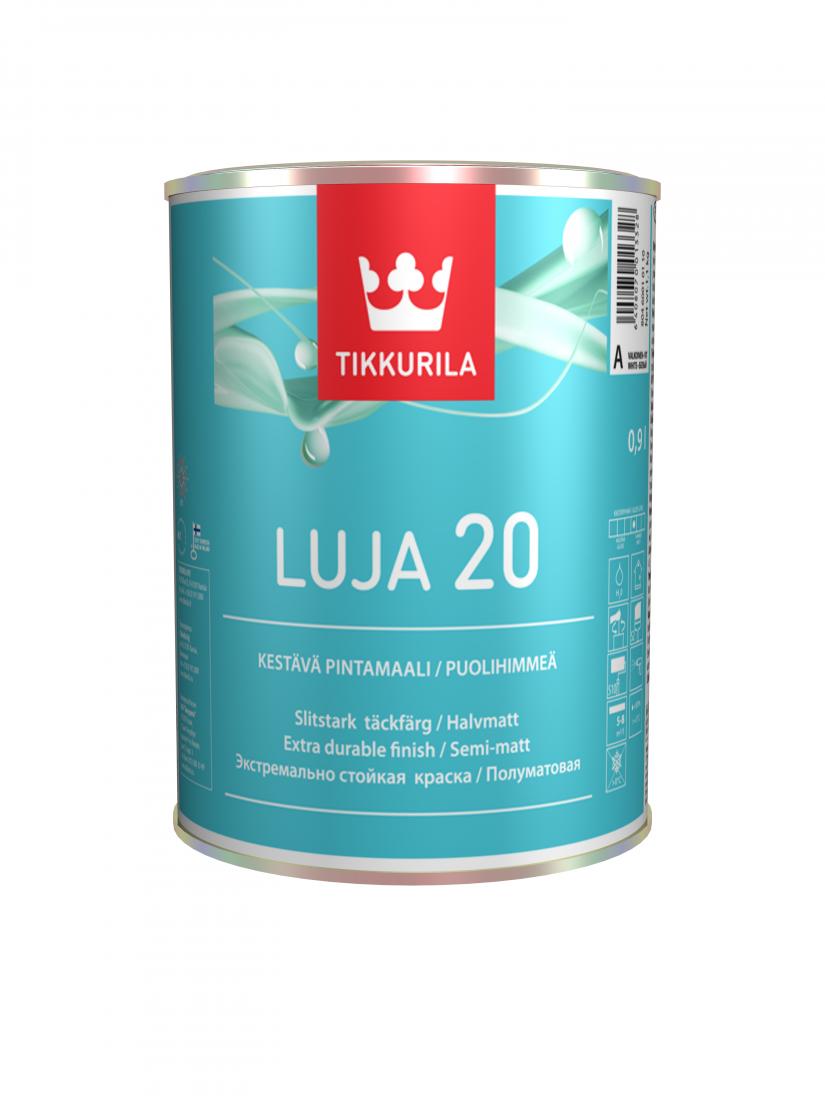 Стойкая к мытью краска Тиккурила Луя 20