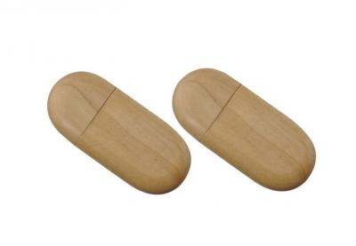 16GB USB-флэш накопитель Apexto UW-0026 деревянная, сосна