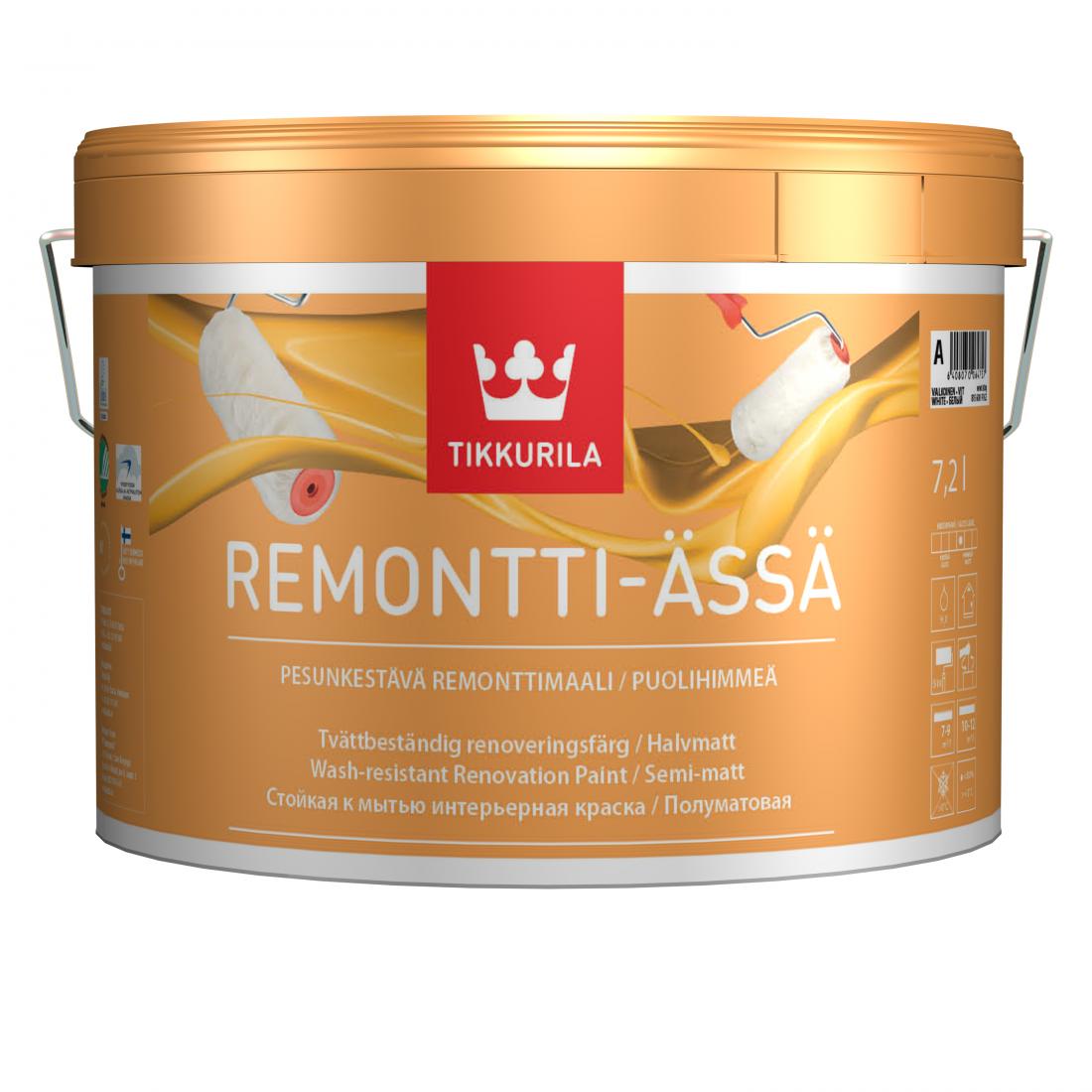 Ремонтная краска Tikkurila Remontti Assa
