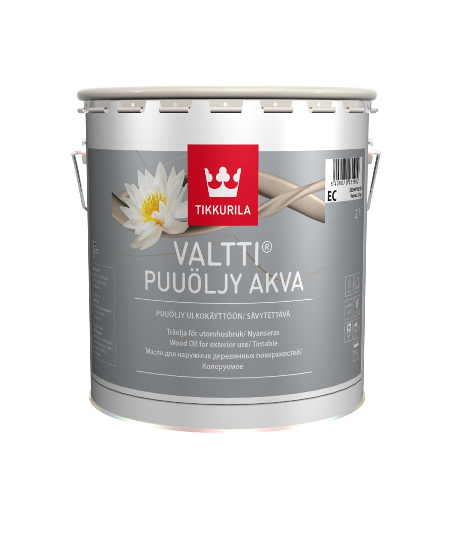 Валтти Аква - масло для дерева.