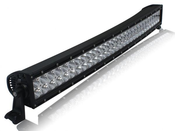 Двухрядная изогнутая светодиодная балка комбинированного свечения AURORA 60xCREE 300W ALO-С-30-P4E4D