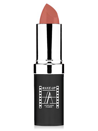 "Make-Up Atelier Paris Cristal Lipstick B12 Pinky beige Помада ""Кристалл"" бежево - розовый"