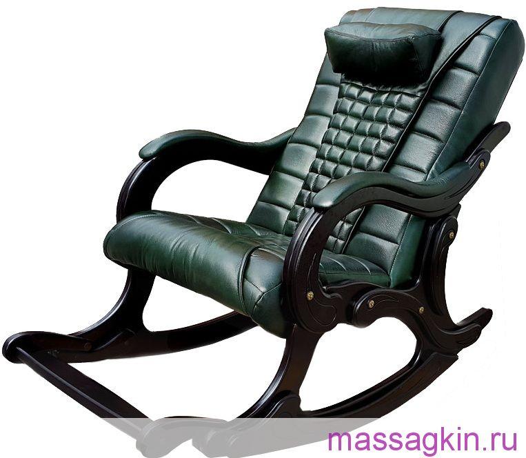 Массажное кресло-качалка EGO WAVE EG-2001 ELITE натуральная кожа