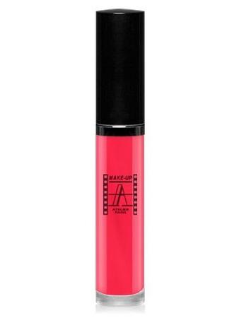 Make-Up Atelier Paris Long Lasting Lipstick RW04 Rose choc Блеск - тинт для губ суперстойкий (розовый шок) розовый