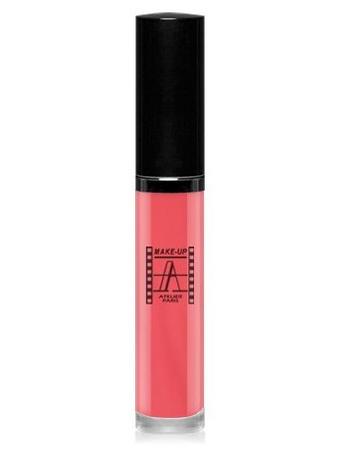 Make-Up Atelier Paris Long Lasting Lipstick RW12 Petale Блеск - тинт для губ суперстойкий лепесток розы
