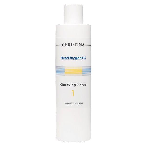Очищающий скраб FluorOxygen+C Christina (ФлюрОксиген Кристина) 300 мл