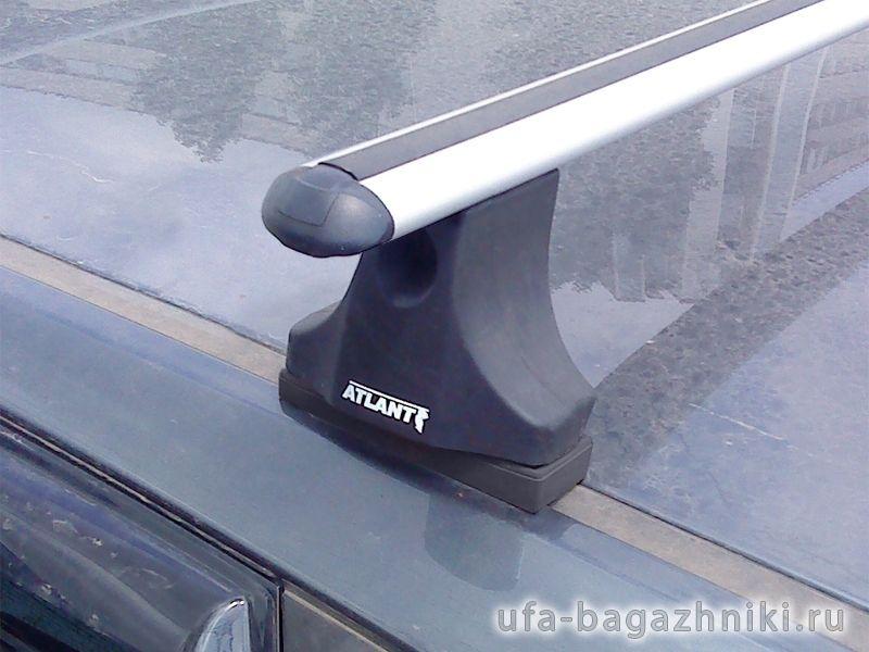 Багажник на крышу Ford Focus 2, Атлант, аэродинамические дуги