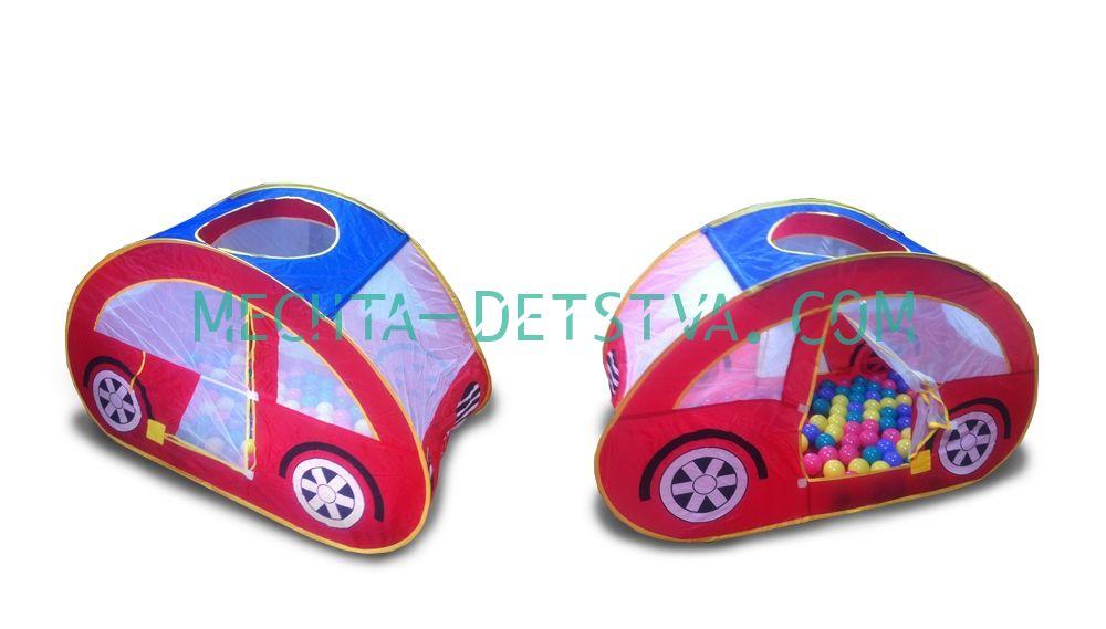 """CBH-07А Игровой домик """"Машина"""" + 100 шариков"""