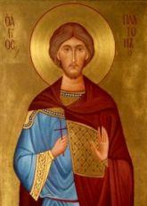 Икона Платон Анкирский (рукописная)