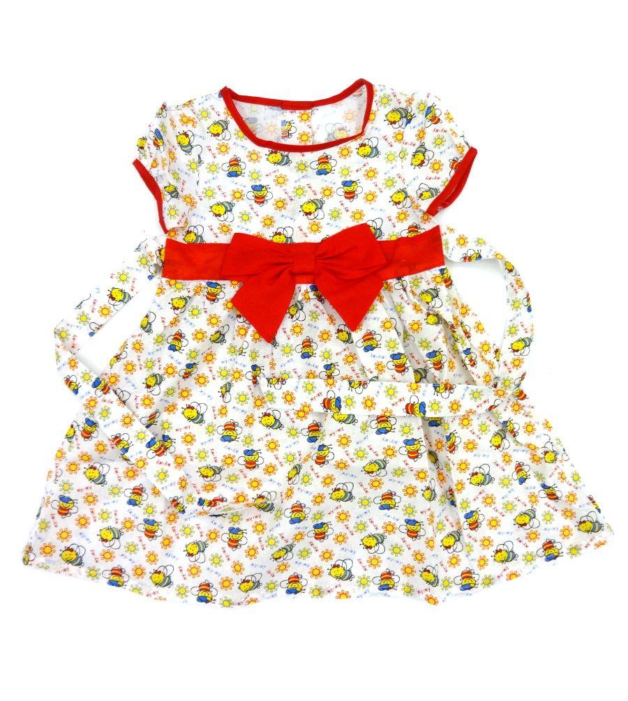 Платье для девочки Веселая пчелка
