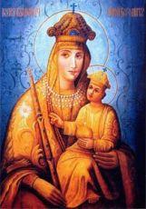 Белыничская икона Божией Матери (рукописная)