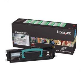 Оригинальный Lexmark E450H11E картридж black