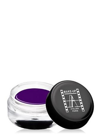 Make-Up Atelier Paris Gel Color Waterproof CGVF Dark purple Краска гелевая водостойкая темно-фиолетовая