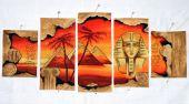 Схема для вышивки крестом Египет. Отшив