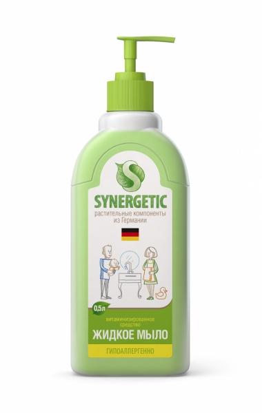 Гипоаллергенное жидкое мыло для рук Synergetic