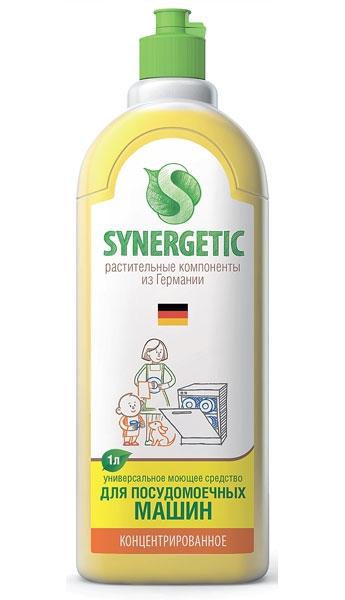 Концентрированное средство для посудомоечных машин Synergetic