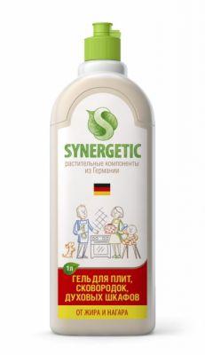 Чистящий гель для кухонных плит и поверхностей Synergetic 1л