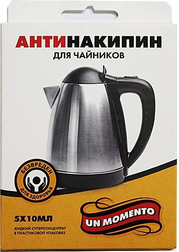 Un Momento Антинакипин для чайников, 5*10 мл