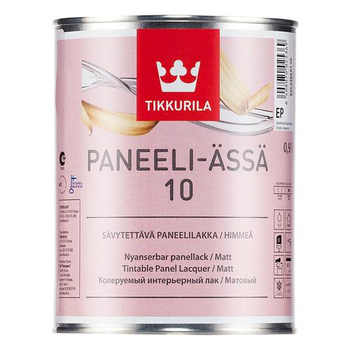Лак для стен и потолков Tikkurila Paneeli Assa