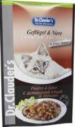 Dr. Clauder's Poultry&Kidney - Мясные кусочки с домашней птицей и почками в соусе (100 г)