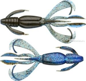 "Слаг Keitech Crazy Flapper 2.8"" 71 мм / 1,55 гр / цвет -402 Okeechobee Craw (упаковка 8 шт)"