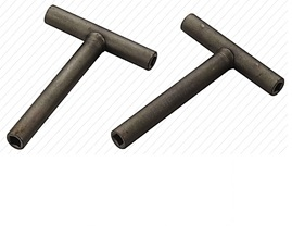 Ключ для регулировки клапанов  (Т-образный, внутренний квадрат: 4х4мм, 3.2х3.2мм, 3.7х3.7мм)