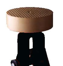 Резиновая накладка для домкрата (D 100мм,толщ 30мм)