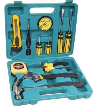 Набор слесарного инструмента 12пр.(молоток, отвертки, шарнирно-губцевый инструмент)