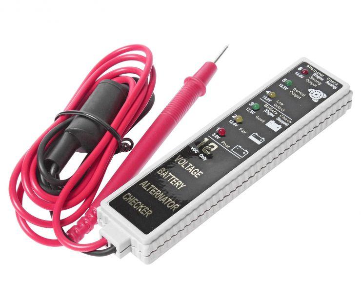 Тестер для АКБ и генератора со световым индикатором JTC /1