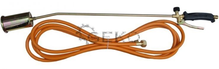 Горелка газовая 60мм L850мм + шланг 5м MAX-1XX'Geko'