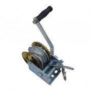 Лебедка ручная ,барабанного типа (стальной трос), 540кг(4,5мм*10м)