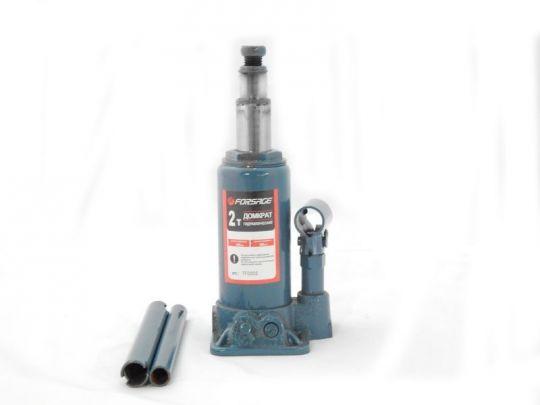 Домкрат бутылочный с двумя штоками,  2т (h min 160мм, h max 340мм)