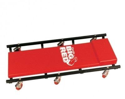 Лежак ремонтный подкатной на 6-ти колесах