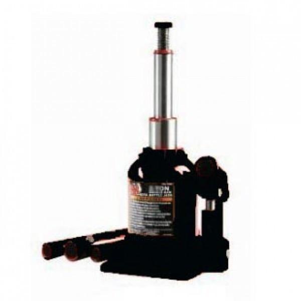 Домкрат бутылочный с двумя штоками,  4т с клапаном(h min 160мм, h max 390мм)
