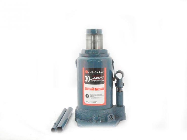 Домкрат бутылочный 30т с клапаном (h min 255мм, h max 405мм)