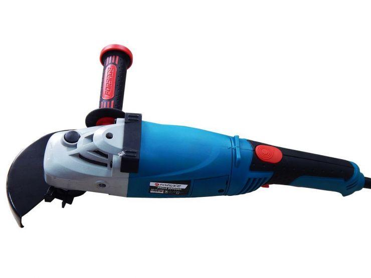Углошлифовальная машина с поворотной рукояткой (220В, 1400Вт, диаметр диска 150мм, 3000-11000об/мин)