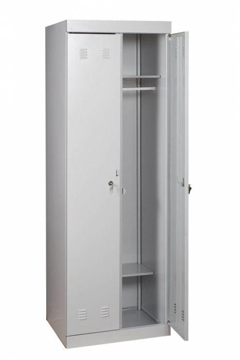 Шкаф гардеробный ШМ-22/700 разборный Размеры: (ШхВхГ) 700х1800х500 мм