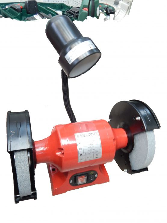 Электроточило с подсветкой (200х20х16мм, 0.35кВт)