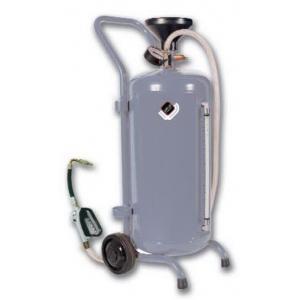 Нагнетатель масла мобильный, с пневмоприводом, 30 л.,с механическим пистолетом.