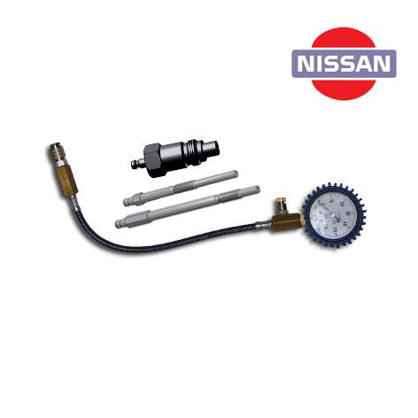 SMC-NISSAN, Специальный компрессометр для дизельных двигателей автомобилей NISSAN.  Применяется для двигателей автомобилей Nissan Patrol, мотор RD 28 (форсунка 71-059С), а также другие двигатели Nissan, объемом до 3,0 л