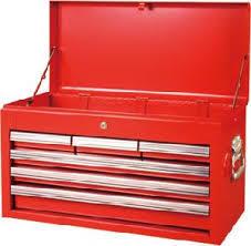 Ящик инструментальный (6 выдвижных полок, откидной верх)
