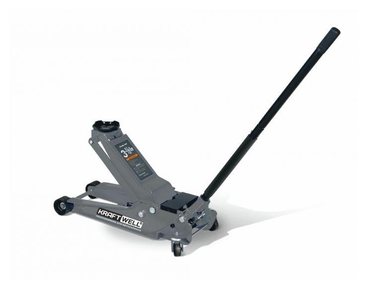 Домкрат подкатной гидравлический, низкопрофильный г/п 3500 кг. Подъем до: 550 мм.