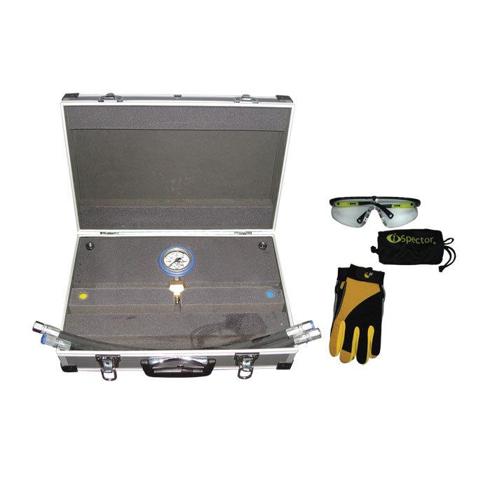 SMC-1005/400 Эконом Предназначен для контроля выходного давления  с максимально развиваемым давлением 400 Bar.. Оснащен высококачественным манометром, диаметром 63 мм в защитном кожухе с гелевым наполнителем. Корпус манометра выполнен из нержавеющей стали