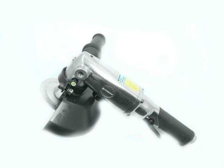 7' Пневмоотрезная машинка угловая (8500об/мин,потребление-170л/мин)