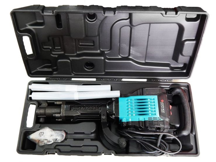 Отбойный молоток ручной электрический в кейсе (220В, 1750Вт, 2100 уд/мин, патрон Hex)