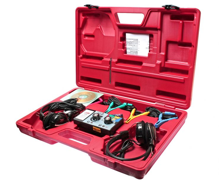 Стетоскоп электронный (наушники, тестер, зажимы, блок управления, магнитный датчик в комплекте) JTC /1